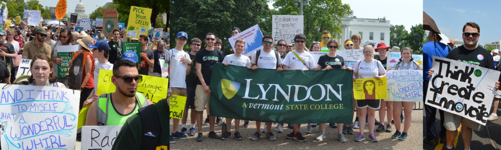 Lyndon students join the People's Climate March