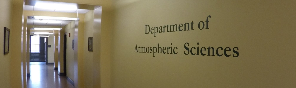 Atmospheric Science hallway