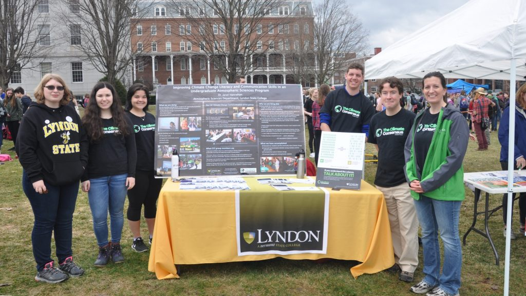 Students, faculty and staff at the 2017 Youth Rally for the Planet in Montpelier, VT