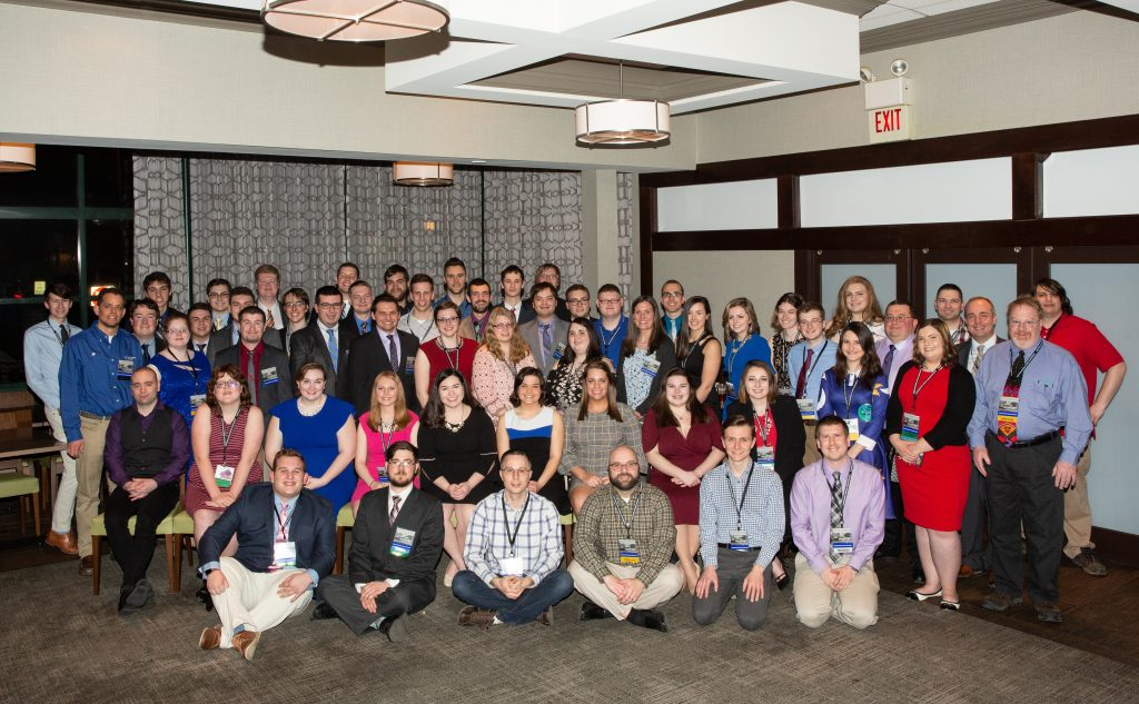 2019 Northeast Storm Conference Lyndon students, almuni, faculty, and staff